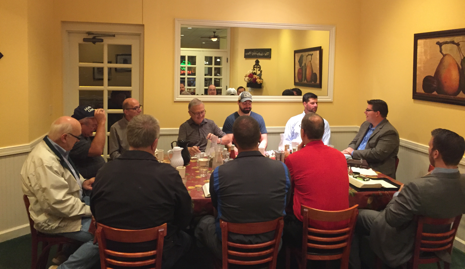Heartland CBMC Bible Study Groups meet weekly throughout the greater Omaha area.  Business men can share and grow in their faith and understanding of God's word.