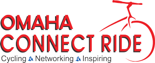 Omaha Connect Ride logo - CBMC cycling event in Nebraska